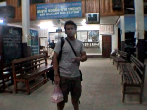 Video 33 - Estación de autobuses Sur, Luang Prabang
