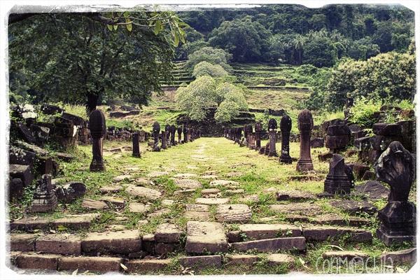 Entrada a las ruinas