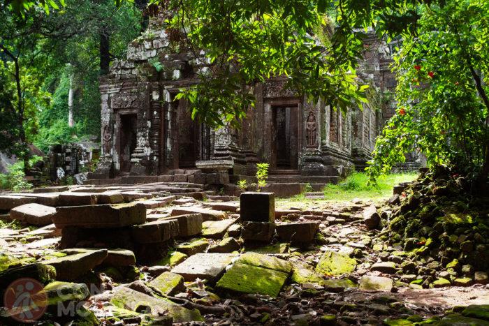 El santuario de Wat Phu
