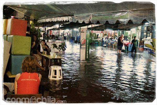 Bangkok inundada