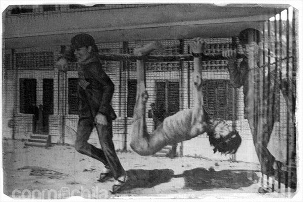 Cuadro mostrando las barbaridades