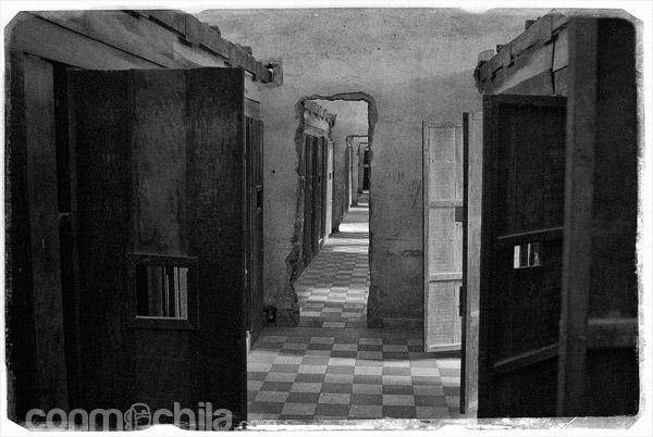 Celdas para los reclusos