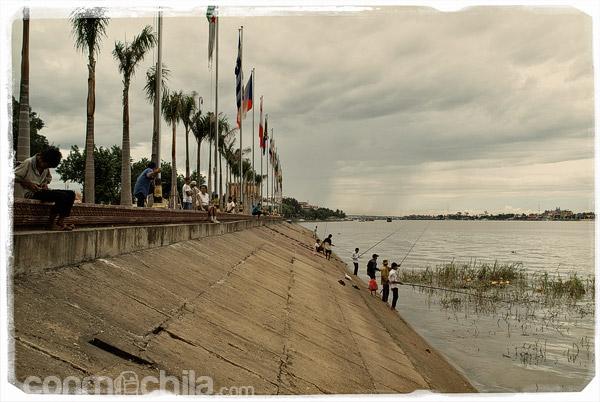Pesca en el Mekong
