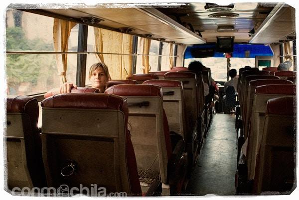 Empezamos con los autobuses destartalados