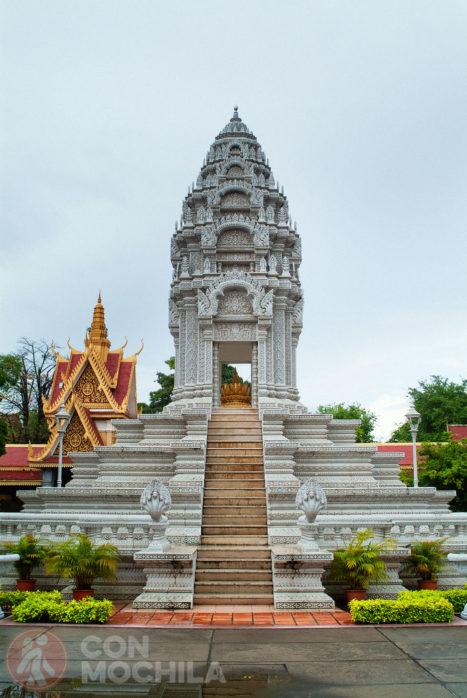 Santuario de la hija del príncipe Sihanuk