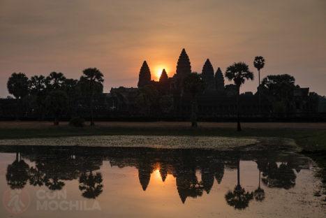 Angkor Wat al amanecer