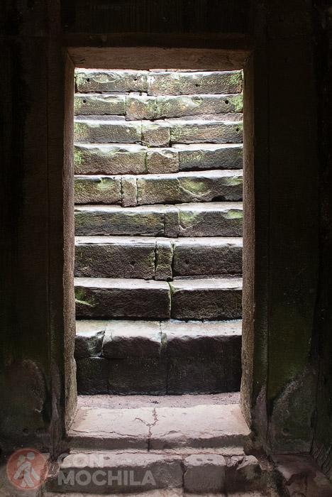 Escalinatas para subir al siguiente nivel