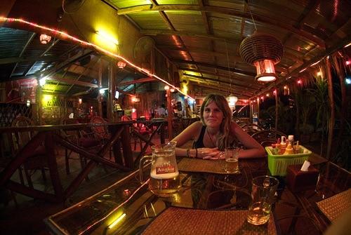 Cenando en el Bayon restaurant