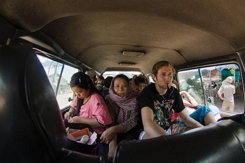 Una miradita al interior del vehículo