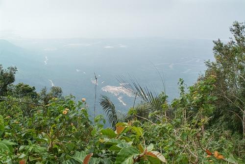 Vistas de los paisajes desde la carretera