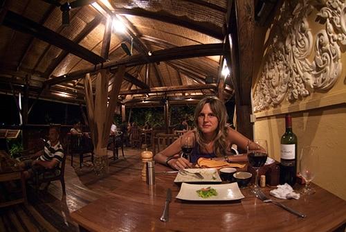 En el Rikitikitavi restaurant