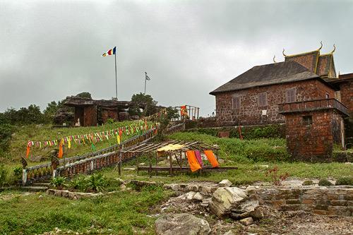 El templo visto desde la entrada