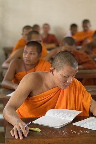 La escuela de monjes