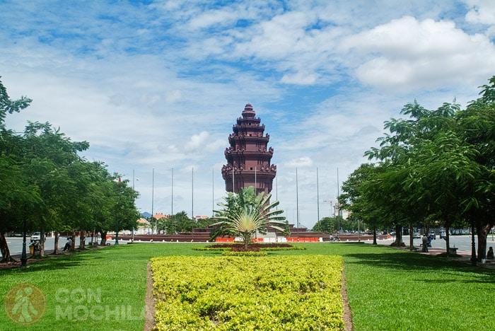 Monumento a la Independencia de Phnom Penh