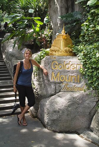 Entrada a Golden Mount