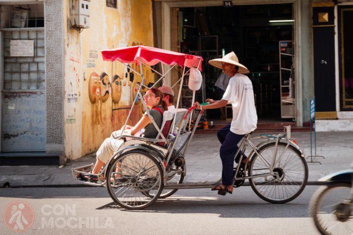 Un cyclo por Hanoi