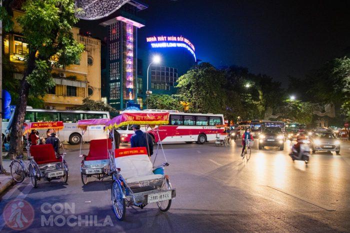 Cyclos a la espera de turistas