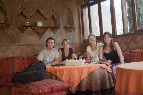 En el fantástico hotel de Zagora