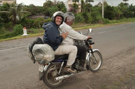 Aventura en moto de la mano de los easy riders de Dalat