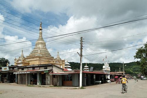 La pagoda dorada Aung Chang Tha Zedi