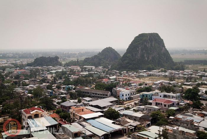 Las montañas de Mármol de Danang