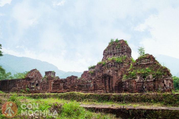 Las ruinas del santuario