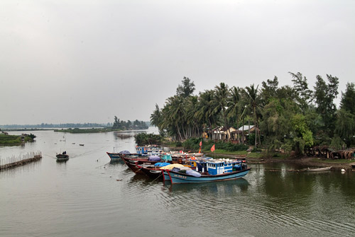 El río Thu Bon