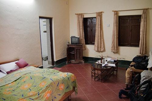 Nuestra habitación en Chander Niwas guesthouse