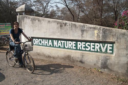 Nos adentramos en Orchha Nature Reserve