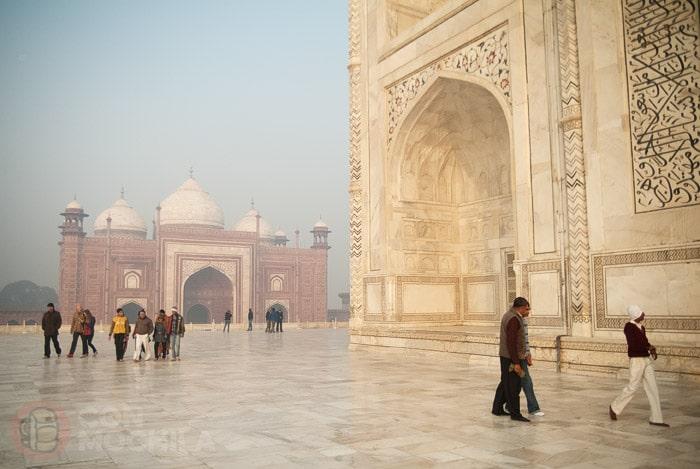 Detalle de la mezquita