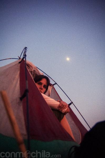 Dormir a la luz de la luna