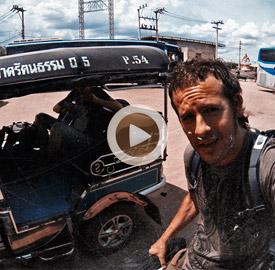 Cruzando la frontera Tailandia - Camboya