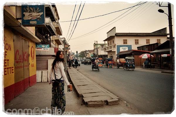 Por las calles de Moramanga