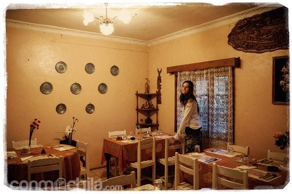 """El restaurante chino """"La flore orientale"""""""
