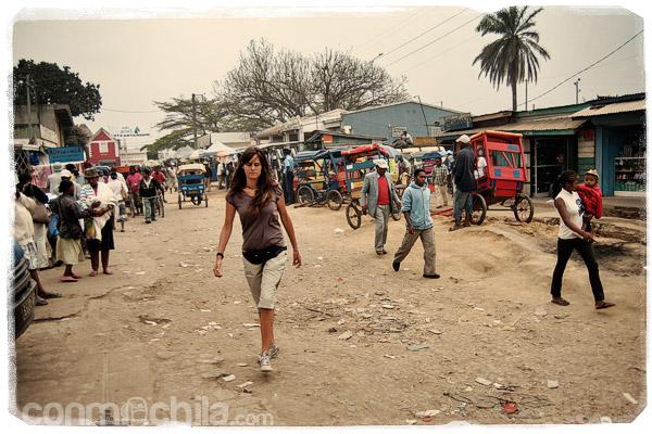 Para de taxi-brousse de Moramanga
