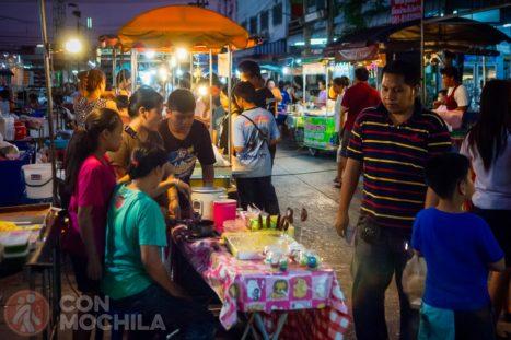 Mercado de Kanchanaburi: night market