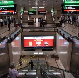 Como moverse por Singapur en metro
