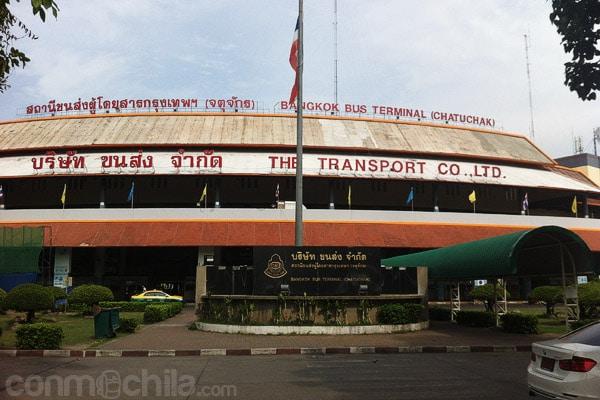 Terminal de autobuses de Bangkok