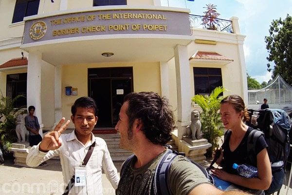 Oficina donde SI hacerse el visado de Camboya