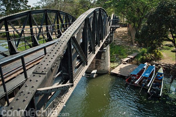 Las barcas rápidas a la espera de turistas