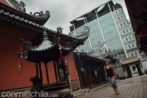 El templo de Thian Hock Keng