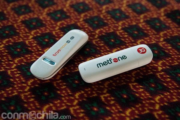 Modems USB de Tailandia y Camboya