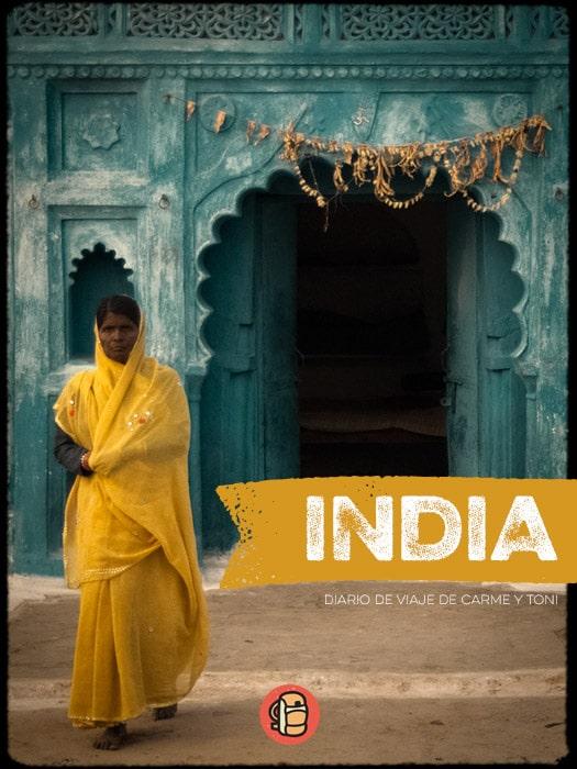 Portada del libro India con mochila