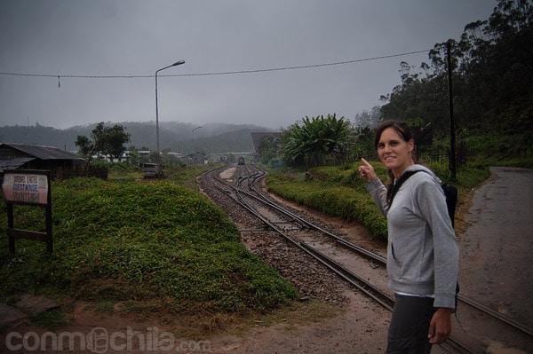 Por aquí pasa el tren, ¿lo sabías? ;-)