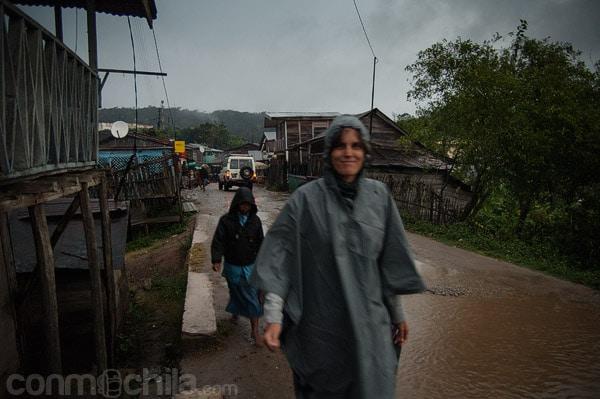 La lluvia nos obliga a protegernos