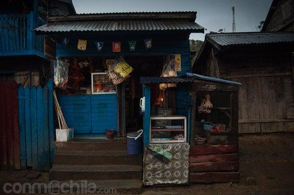 Una pequeña tienda