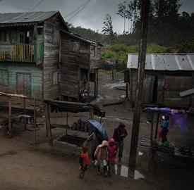 Andasibe, lluvioso pueblecito de Madagascar