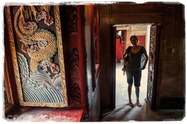 En el templo chino que hay junto al Wat Phanan Choeng