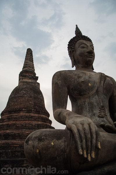 Una de las imágenes de Buda