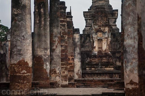 Otra de las salas de columnas